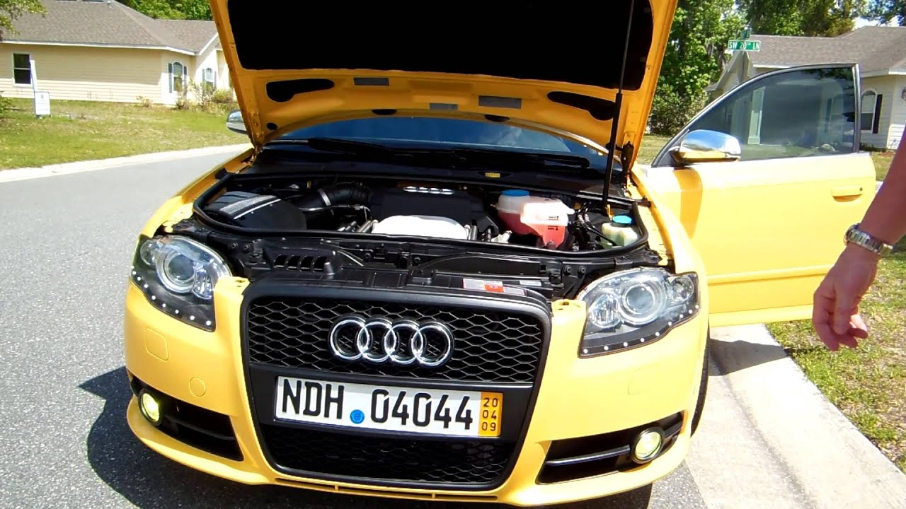 Audi B7 S4 Imola Yellow For Sale Hdvid5 Youtube