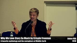 Favorite mythology and Middle Earth - Crispin Freeman talks story at Anime USA 2018