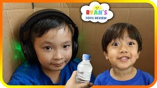 I MAILED MYSELF to Ryan's Toy Review and it WORKED! It Gone WRONG (Skit) - Super Baby Colors