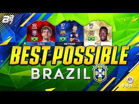 HIGHEST RATED BRAZIL TEAM! w/ iMOTM KAKA AND PELE!! | FIFA 16