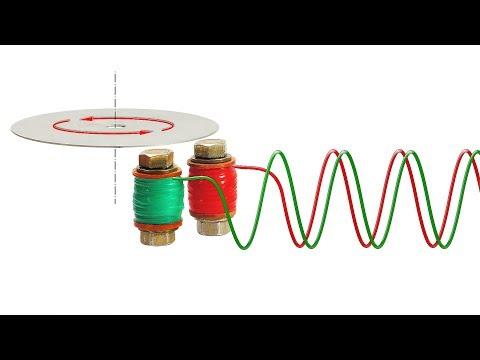 Индукционный мотор на вихревых токах своими руками