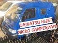 Daihatsu Hijet Campervan Conversion Micro Camper