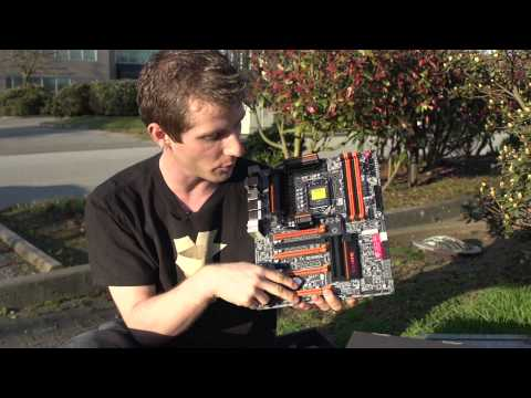 Gigabyte Z77X-UP7 Overclocking Motherboard Unboxing & Overview