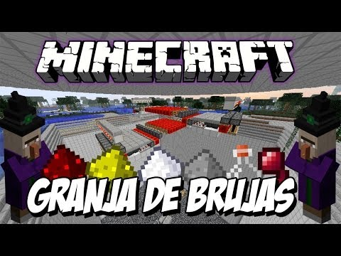 Minecraft Tutorial: Granja de Brujas / Witch Farm 1.7.2
