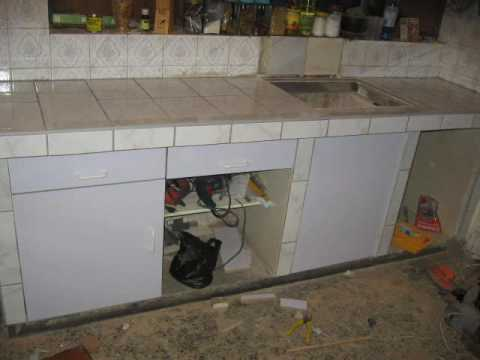 Repostero de cocina 99785 5924 youtube - Losas de cocina ...