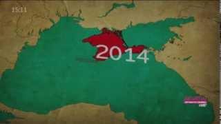 От скифов до наших дней. Как менялась карта Крыма за 2 тысячи лет