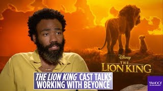 Donald Glover on working with Beyonce for 'Can You Feel the Love Tonight' song