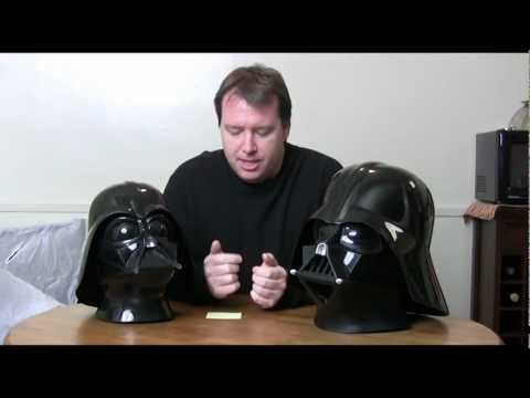 Star Wars Rubies and Don Post Darth Vader Helmet review & compaison