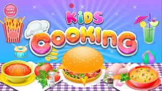 GAME MEMASAK UNTUK ANAK - KIDS COOKING GAME GAME FOR KIDS LETS PLAY