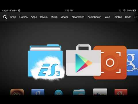how to install Google play store on a Kindle fire hdx(No custom rom)12/27/14