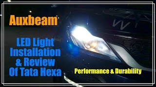 Should we install Led Headlight? Installed and reviewed in Tata Hexa - H7 Socket- English