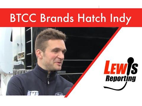 Colin Turkington - Subaru TeamBMR - BTCC Brands Hatch Indy 2016