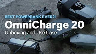 OmniCharge 20 Unboxing and Use Case - BEST POWERBANK I HAVE USED!