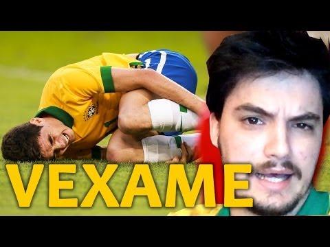 BRASIL 1 x 7 ALEMANHA - VAI TOMAR NO #*(@#(