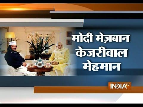 PM Modi's Chai Pe Charcha with Arvind Kejriwal Tomorrow - India TV