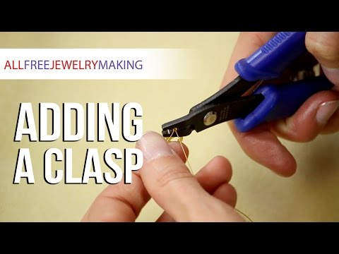 How to Add a Clasp