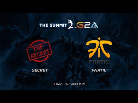 TopSecret vs Fnatic The Summit2
