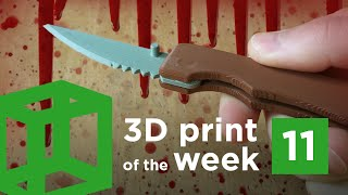download lagu 3d Print Of The Week 11  Folding Pocket gratis