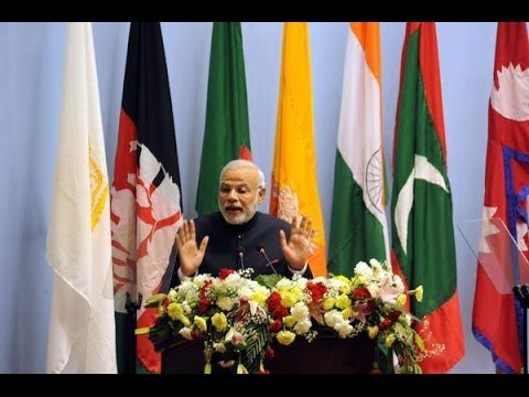 Narendra Modi's SAARC Full Speech