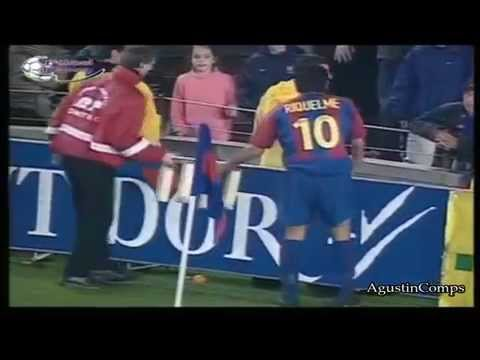 Juan Roman Riquelme vs Real Madrid Derby 2002/2003 Short Version