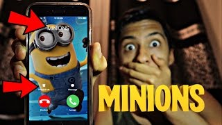 CALLING MINIONS *OMG HE ACTUALLY ANSWERED*