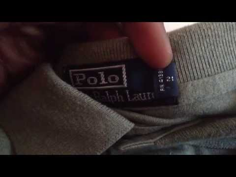 Real vs Fake Polo Ralph Lauren (Side by Side Comparison)