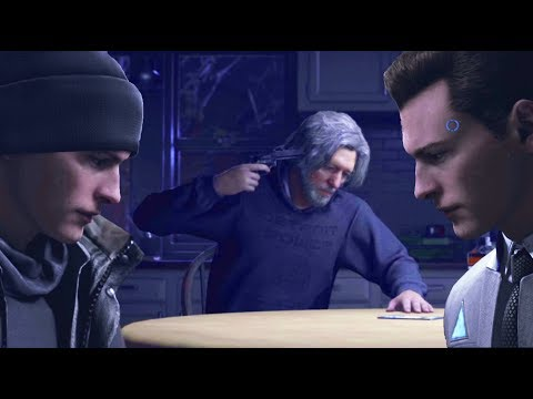 All Three Hanks Suicides Explained - All Dialogues - Detroit Become Human