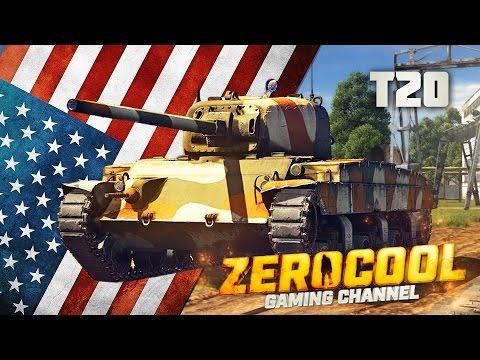 T20 МИНИ-ПЕРШИНГ - War Thunder
