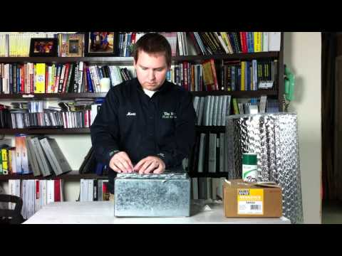 How to Insulate Duct Work with Bubble Wrap
