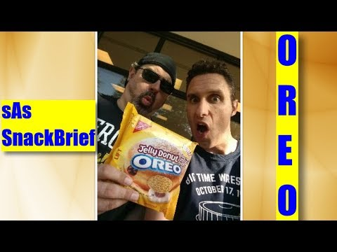 sAs SnackBrief: Oreo Jelly Donut Review