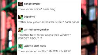 This is What New York Sounds Like.