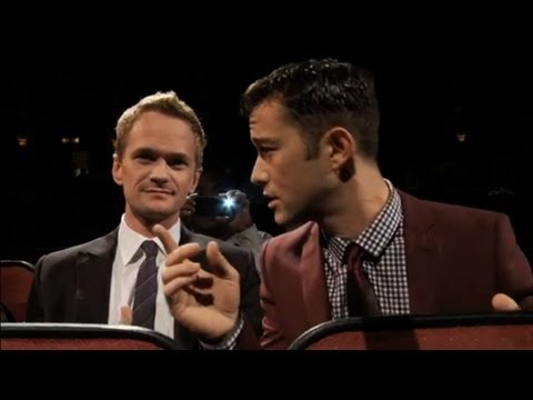 [HD] Joseph Gordon Levitt and Neil Patrick Harris at HitRECord Fall Formal