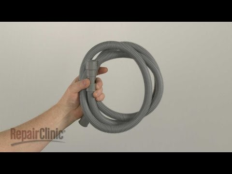 how to clean dishwasher hose