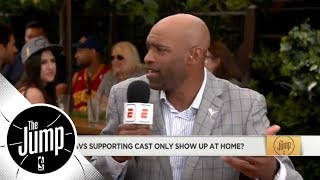 Vince Carter: LeBron scoring 45 points isn't enough, he needs his supporting cast | The Jump | ESPN