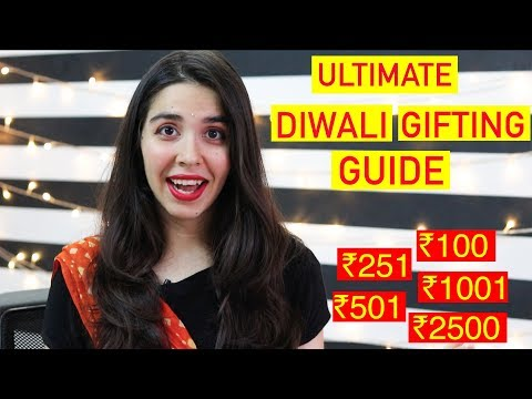 *ULTIMATE* Diwali Gifting Guide For Every Budget | #HeliHauls