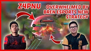 Z4pnu Faces Bren Esports New Strategy! - Mobile Legends