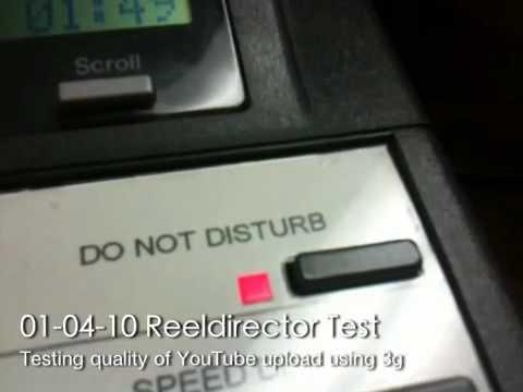 Reeldirector 3g Upload Test video