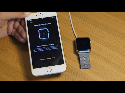 How to pair and setup your Apple Watch