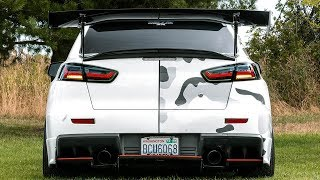 New Sequential Tail Lights for the Evo X!