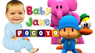 Pokoyo and Baby Jake - Dancing Together! Nursery Rhymes for Kids