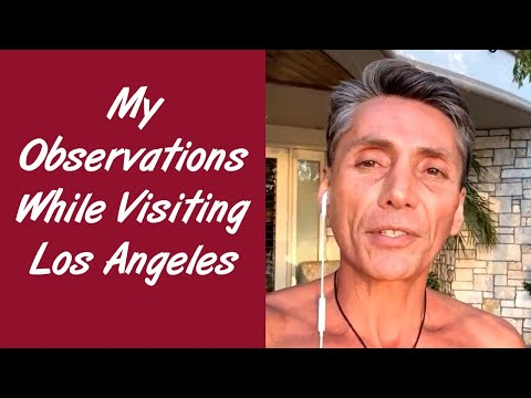 Dr Robert Cassar, ''My Observations'' while visiting Los Angeles in December 2015 in HD