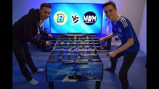 Son v Dad Foosball Table Football Challenge - Italy v Brazil