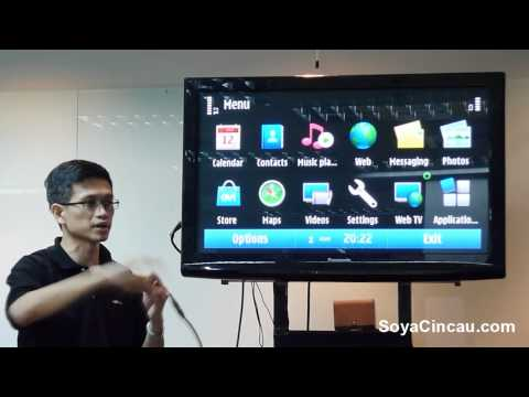 Nokia N8 walkthrough: Symbian S^3 Intro and Music Player