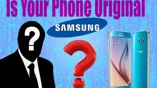 How To Identify Original Samsung Mobile -- Bangla Tutorial