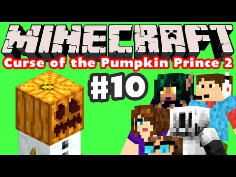 Minecraft - Curse of the Pumpkin Prince 2 - Part 10 - Senros Boss Fight Finale!