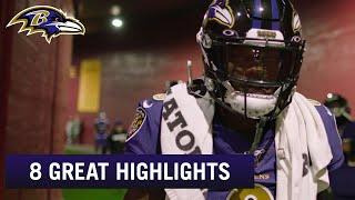 8 Great Plays From Lamar Jackson During Ravens' 8-Game Winning Streak