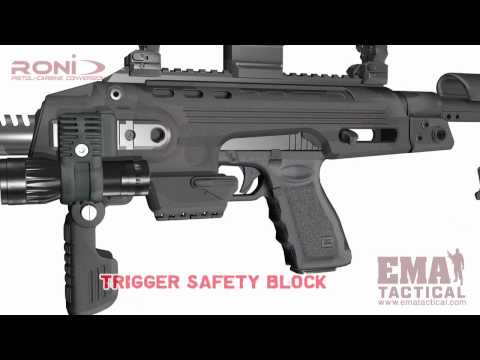 EMA Tactical RONI G1 Glock Carbine Kit