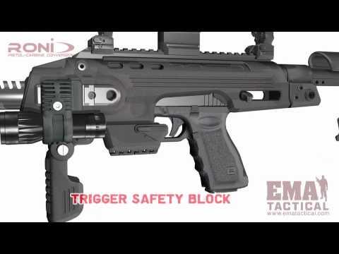 EMA Tactical RONI G1 Glock Carbine Kit