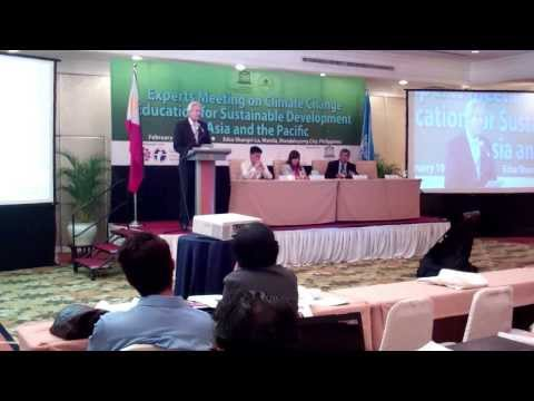 Climate Change Education for Sustainable Development in Asia and the Pacific