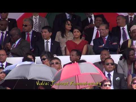Mahamasina. Rajoelina, tribunes, 25 01 2014